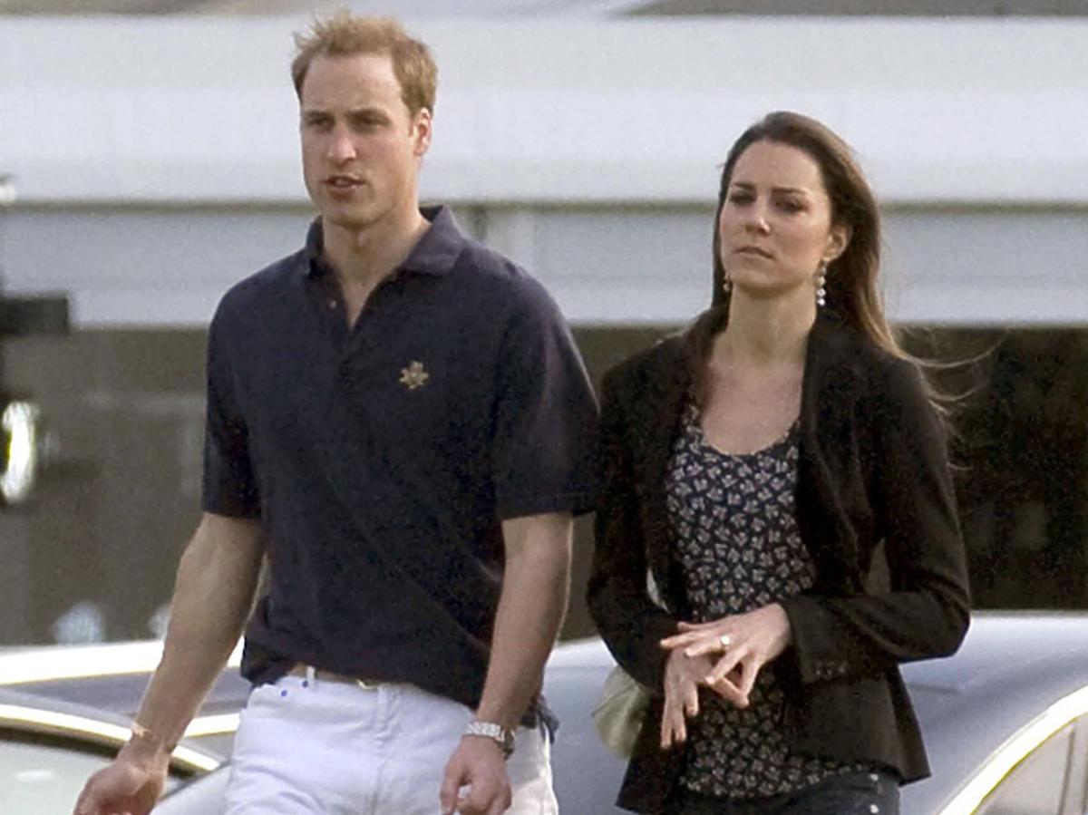 Księżna Kate i książę William na początku związku