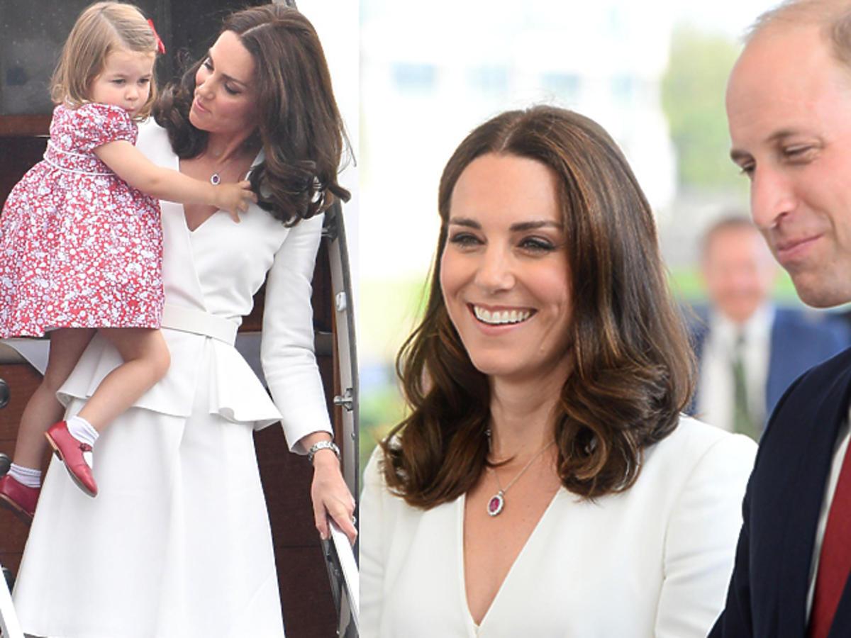 Księżna Kate i książę William podczas oficjalnej wizyty w Polsce