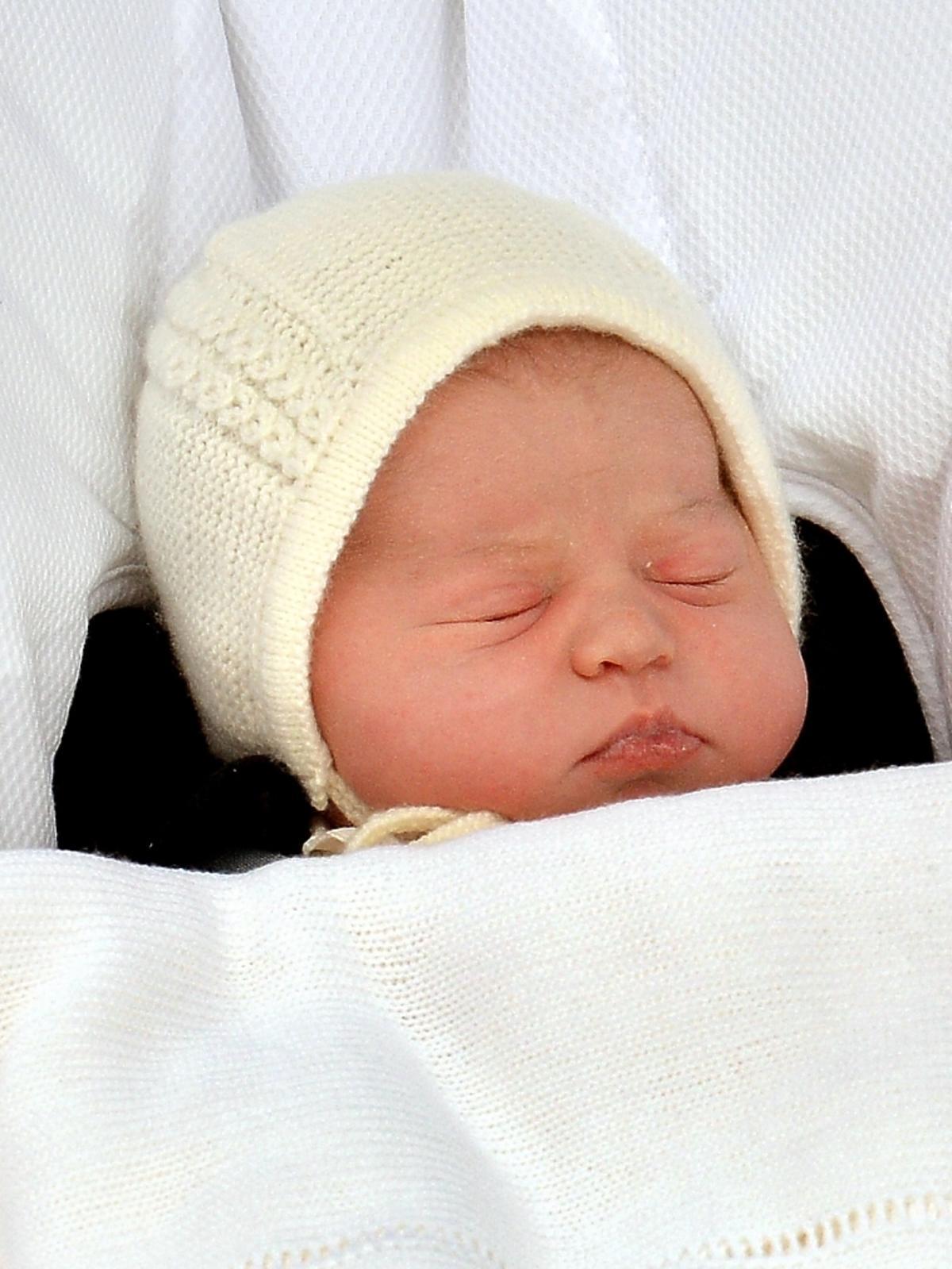 Księżna Kate i książę William pokazali córkę