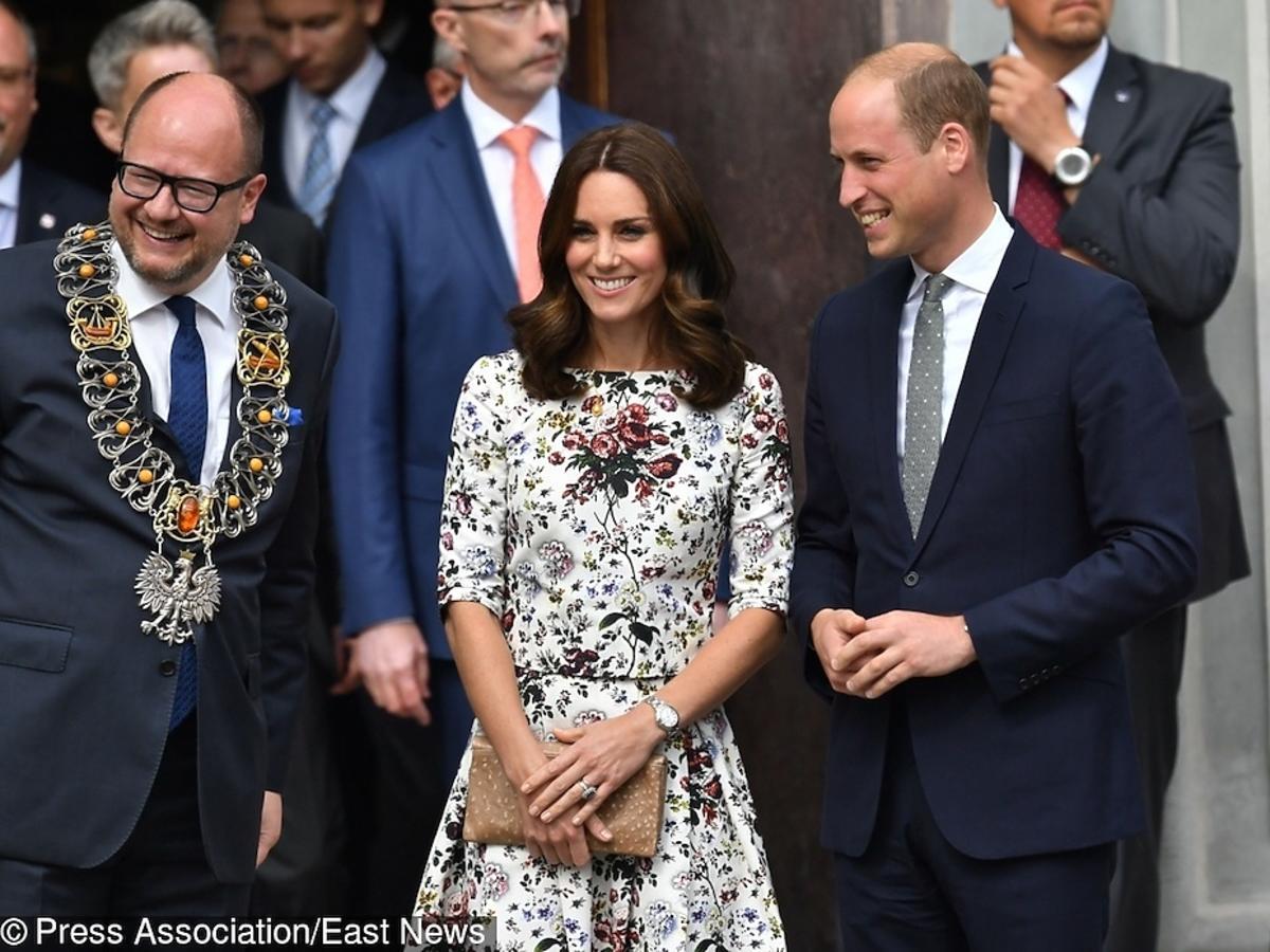 Księżna Kate i książę William prezenty z bursztynu