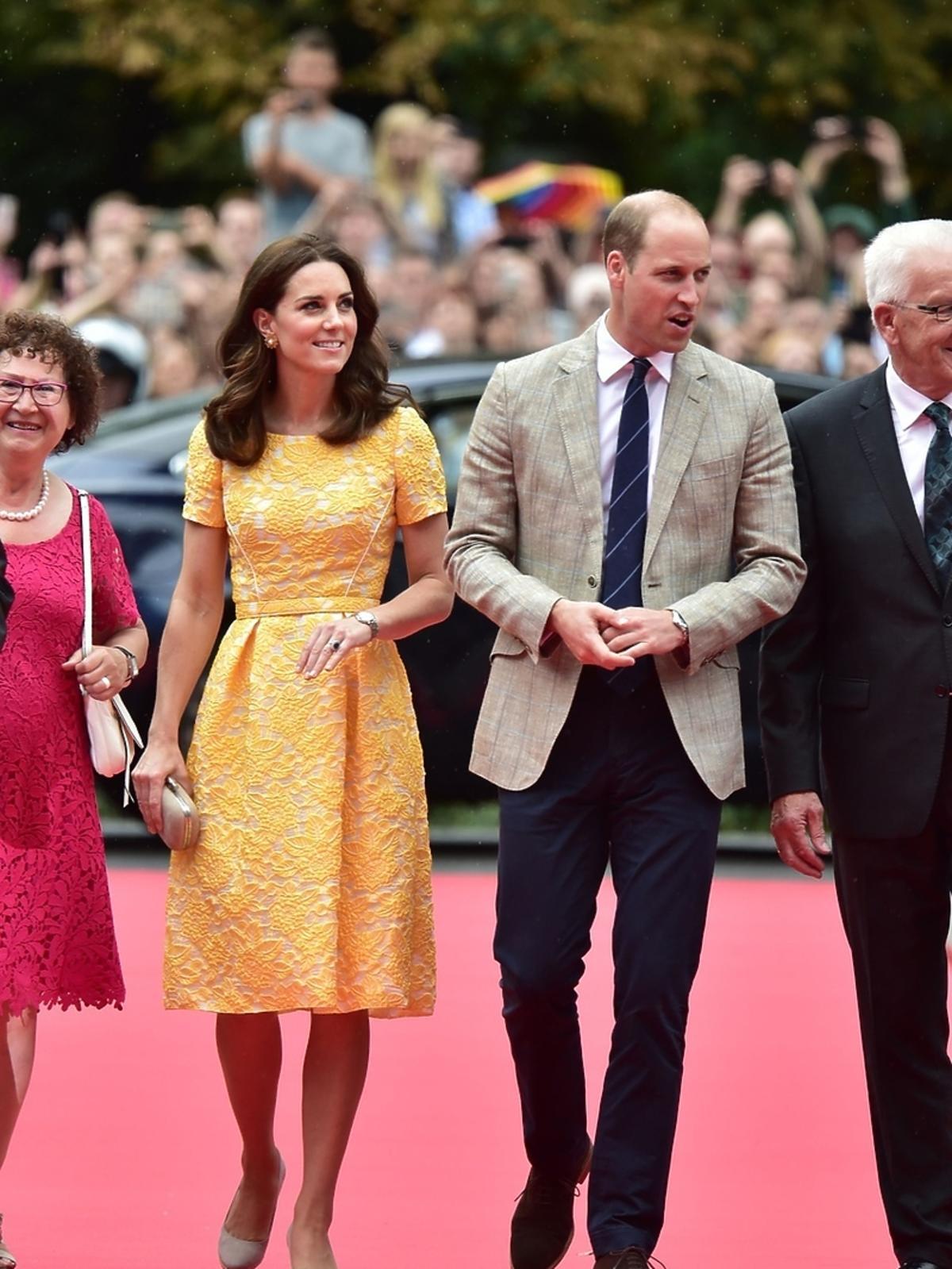 Księżna Kate i książę William w Heidelbergu