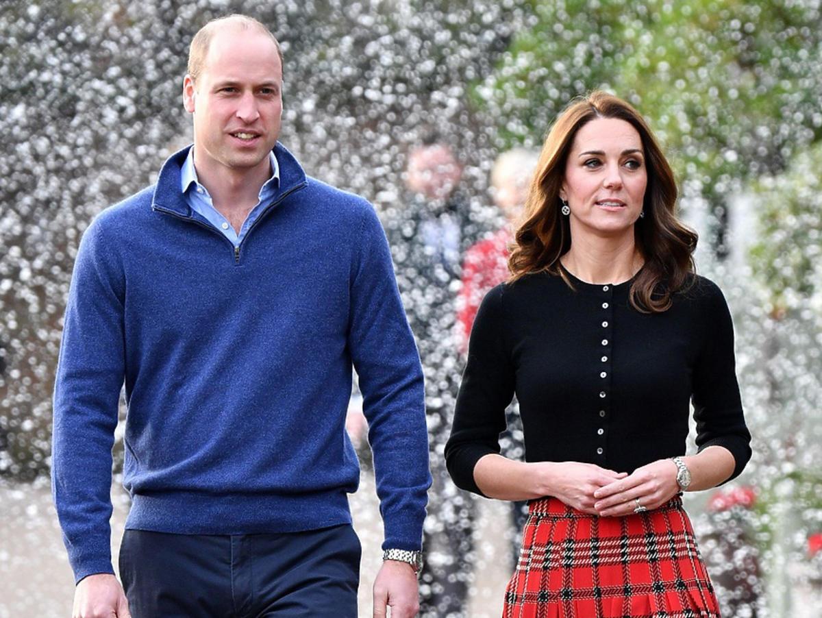 Księżna Kate i książę William w Londynie