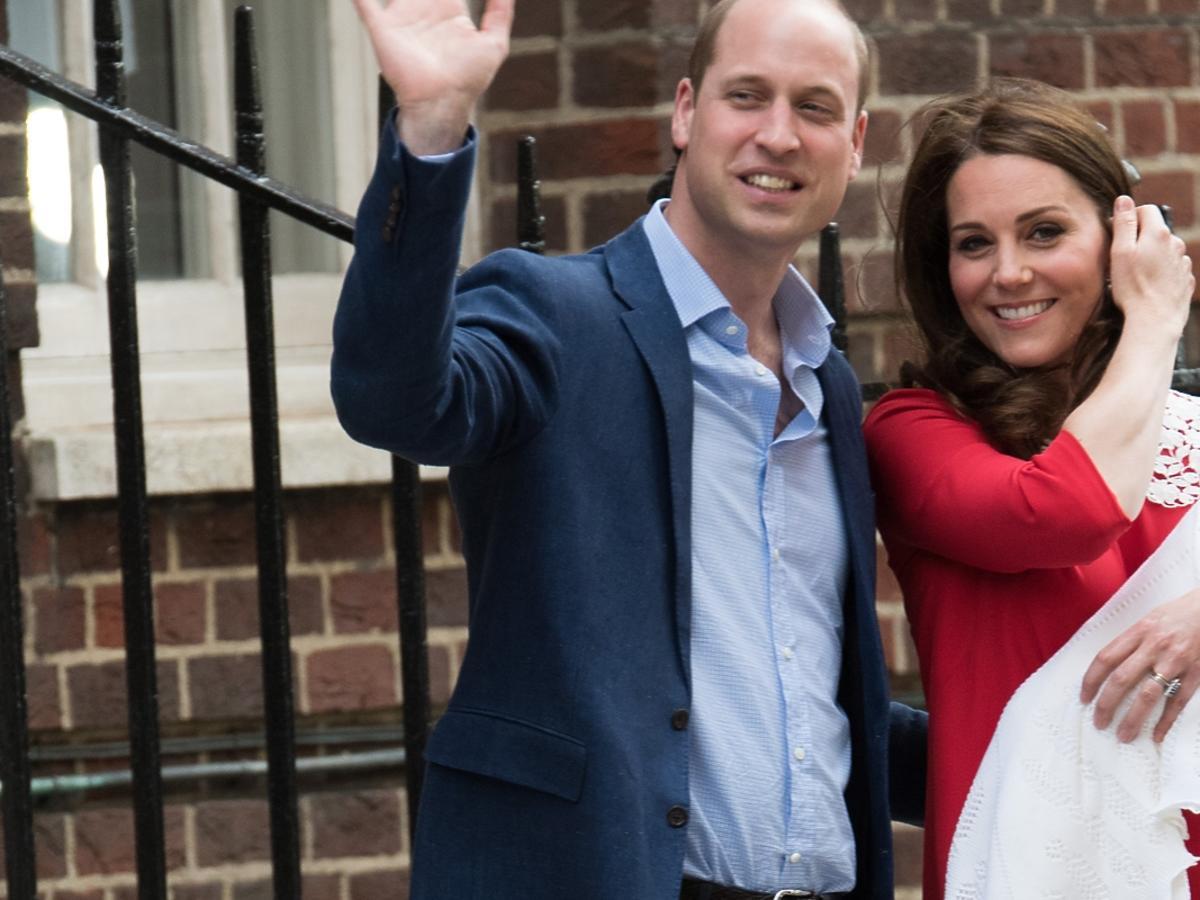 Księżna Kate i książę William zostali rodzicami