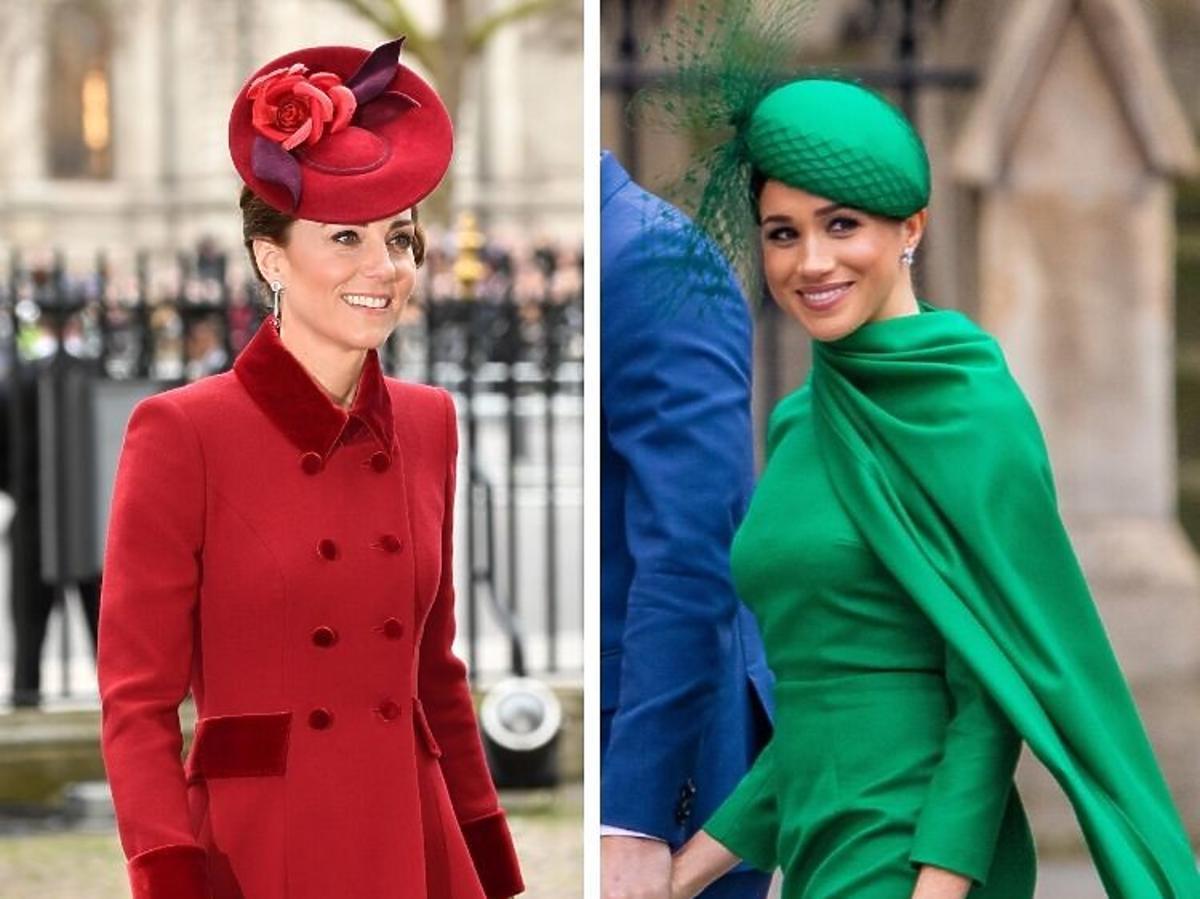 Księżna Kate i Megan Markle