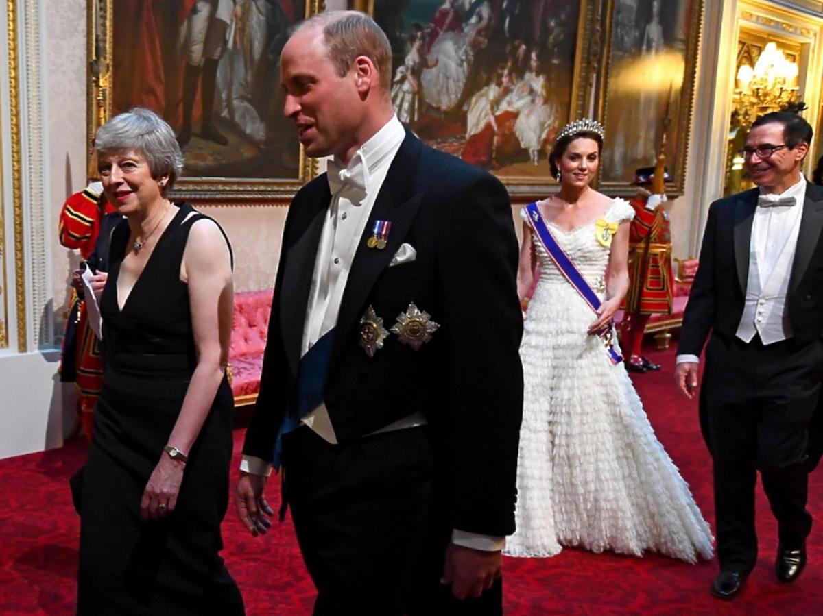 Księżna Kate i William nie siedzieli obok siebie