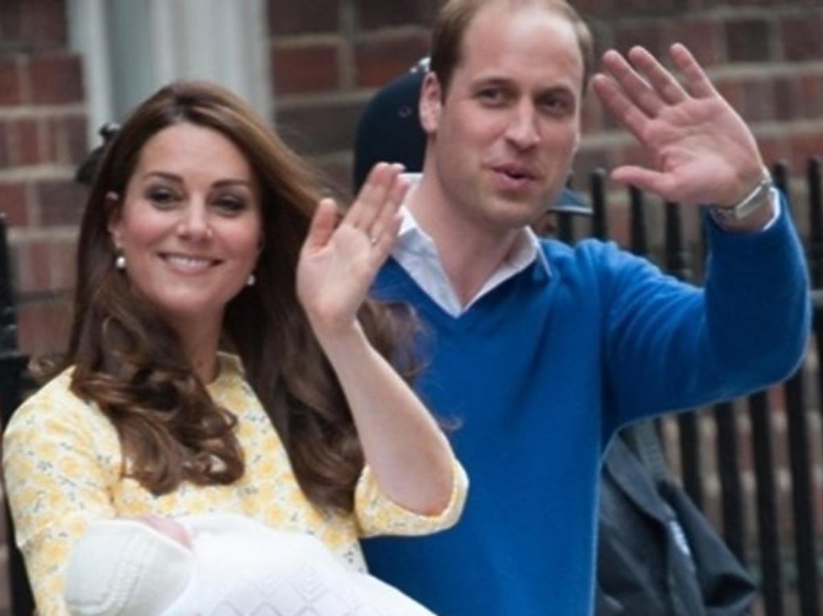Księżna Kate i William  pokazali dziecko