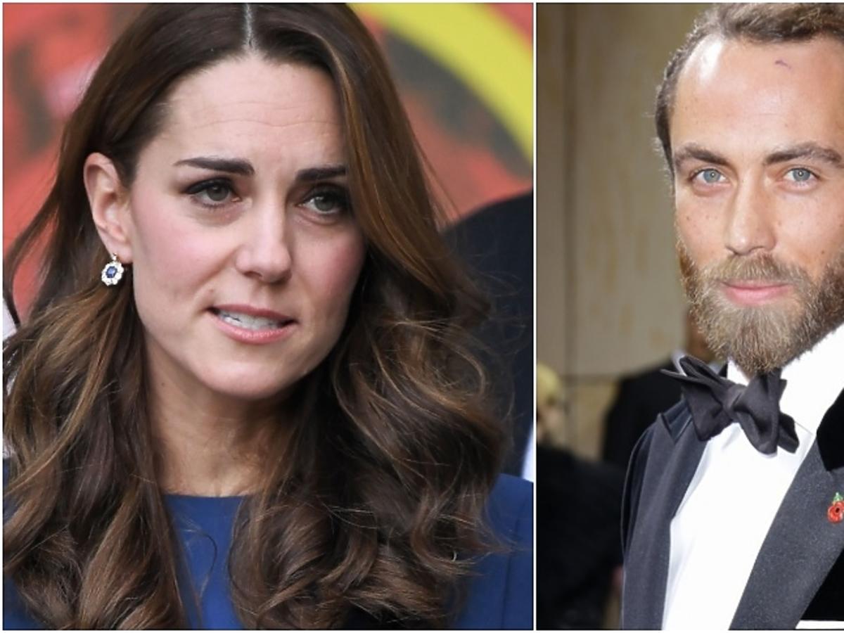 księżna Kate, James Middleton