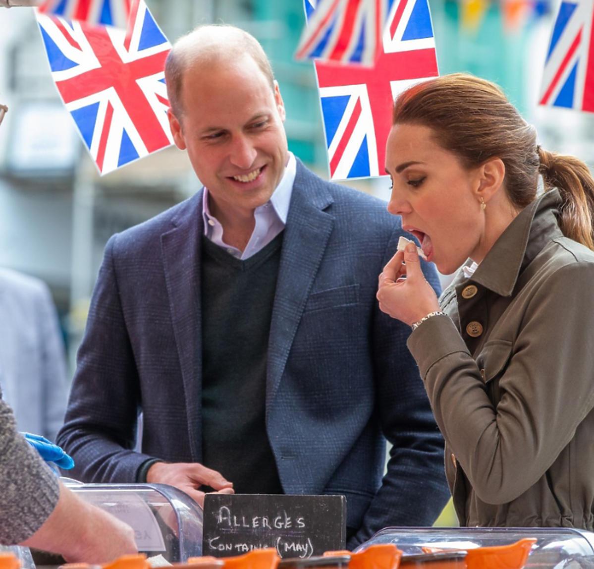 księżna Kate je ser