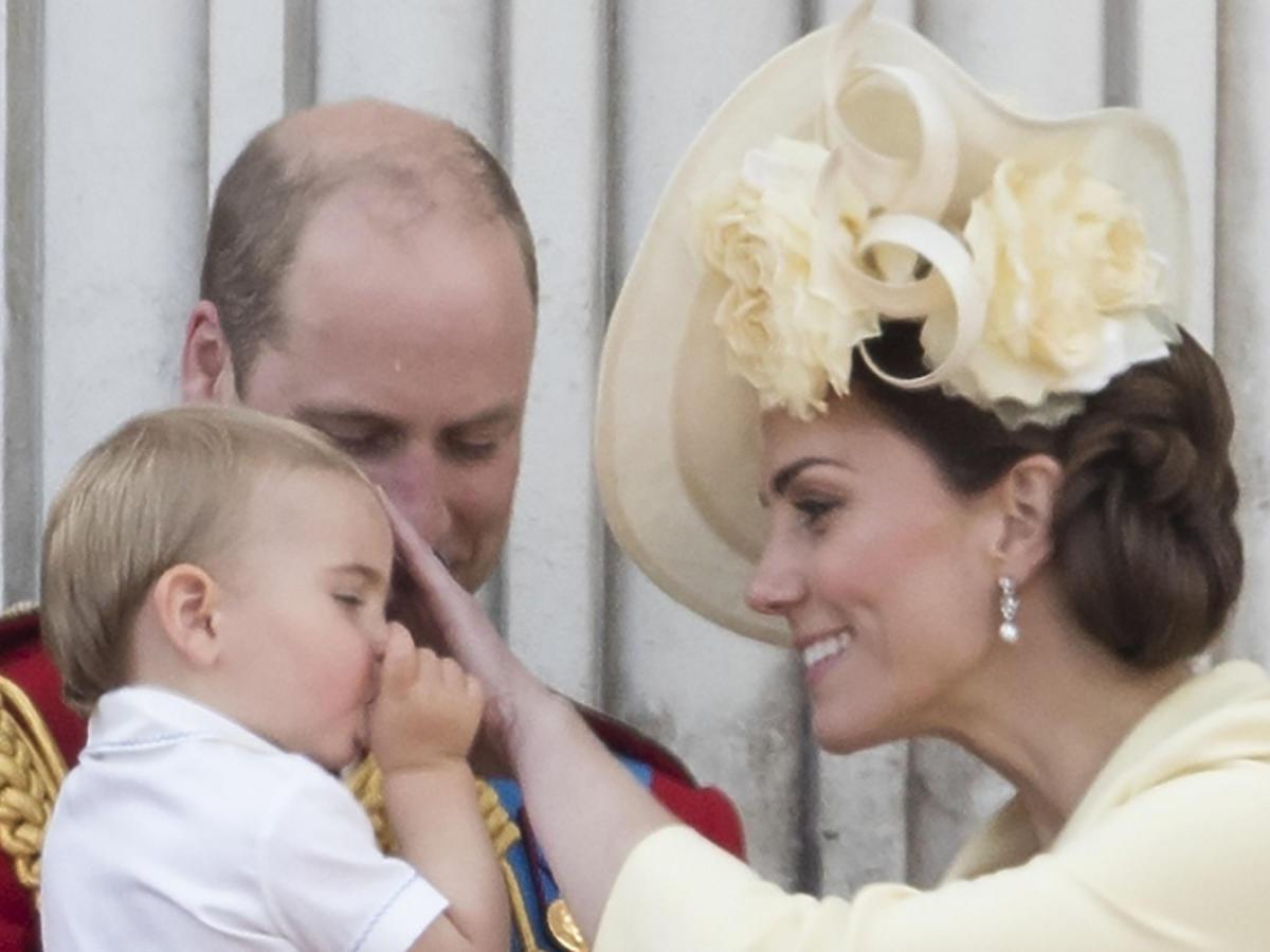Księżna Kate, Kate Middleton, książę William, Louis, książę Louis