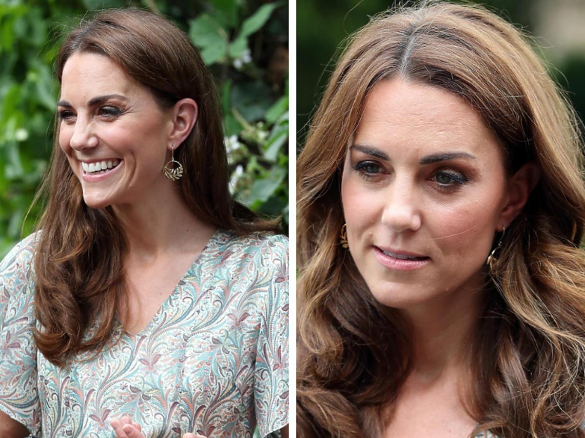 księżna Kate kolczyki