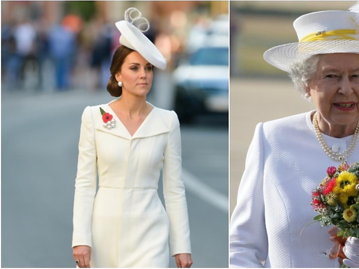 księżna Kate, królowa Elżbieta II