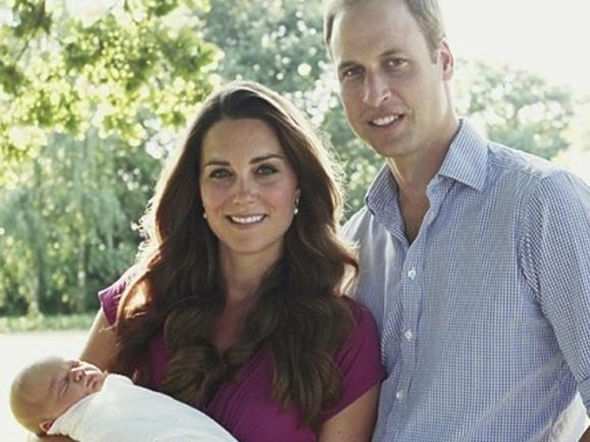 Księżna Kate, Książę William i ich syn George