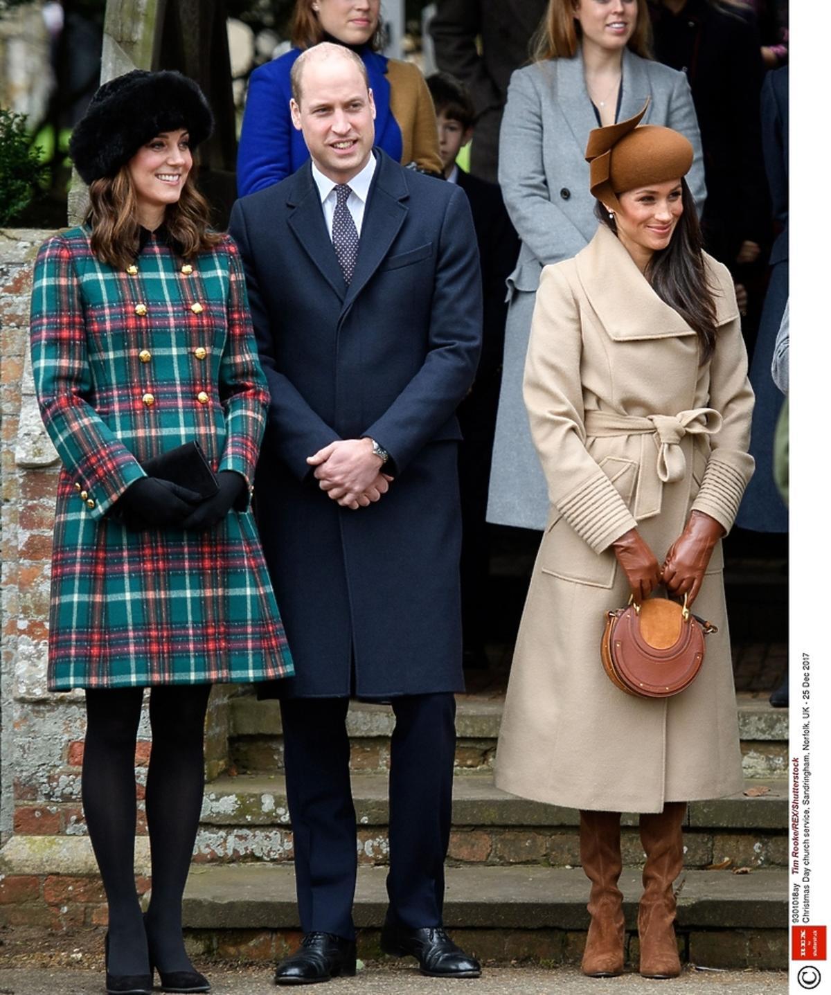 Księżna Kate książę William, Meghan Markle