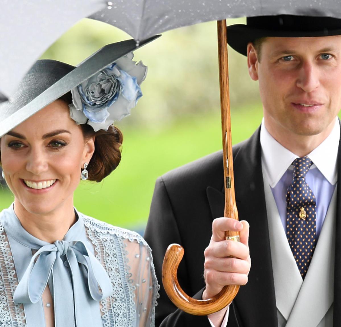księżna Kate, książę William razem na wyścigach w Ascot
