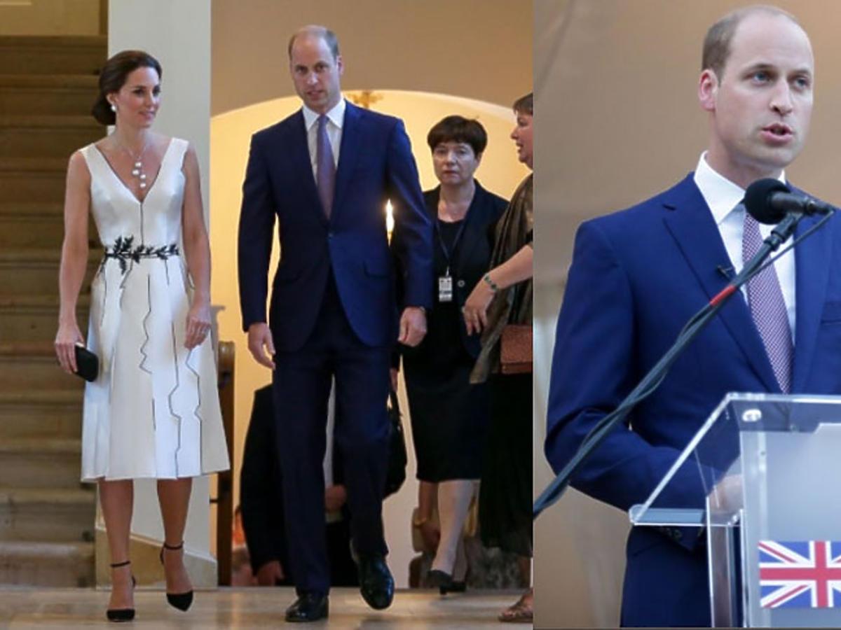 Księżna Kate, Książę William w Łazienkach