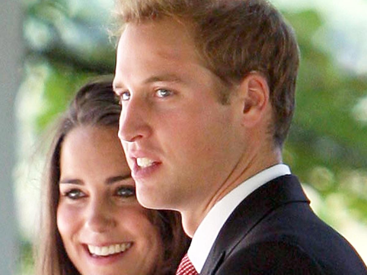 księżna Kate, książę William w młodości