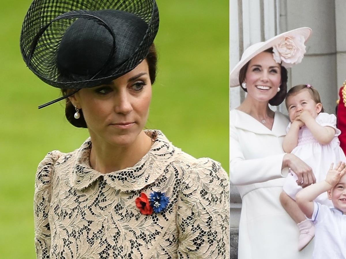 księżna Kate, księżniczka Charlotte, książę Geroge, książę William