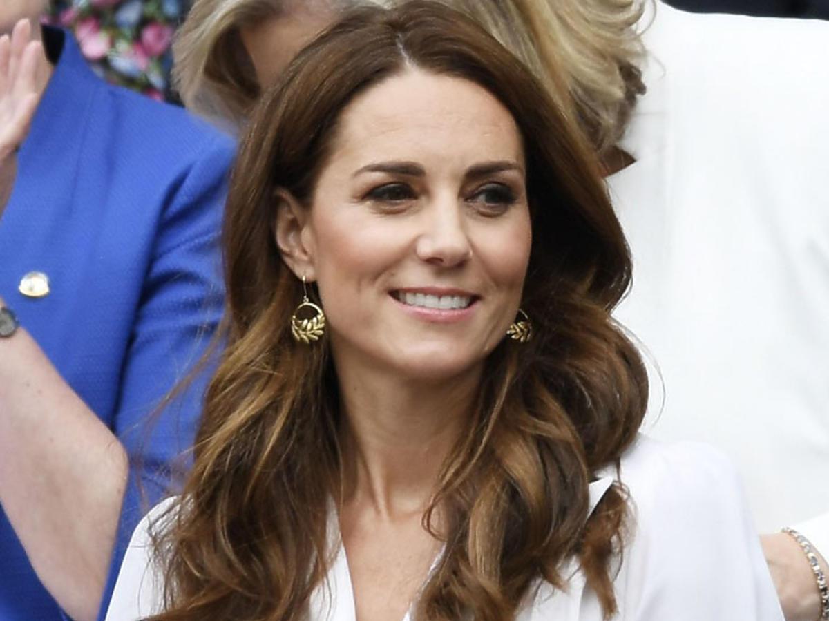 księżna Kate na meczu tenisa