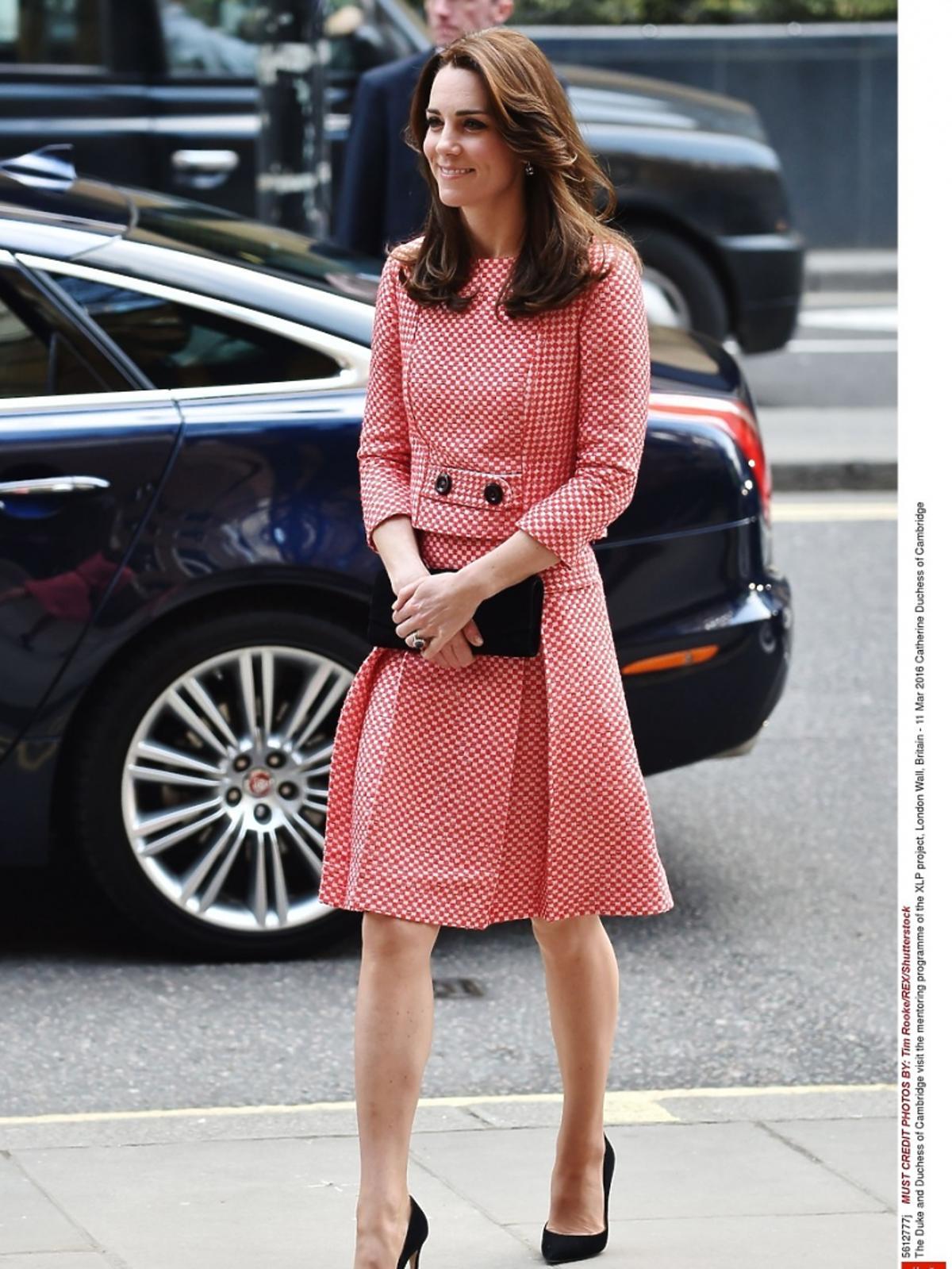 Księżna Kate na oficjalnej wizycie w organizacji charytatywnej