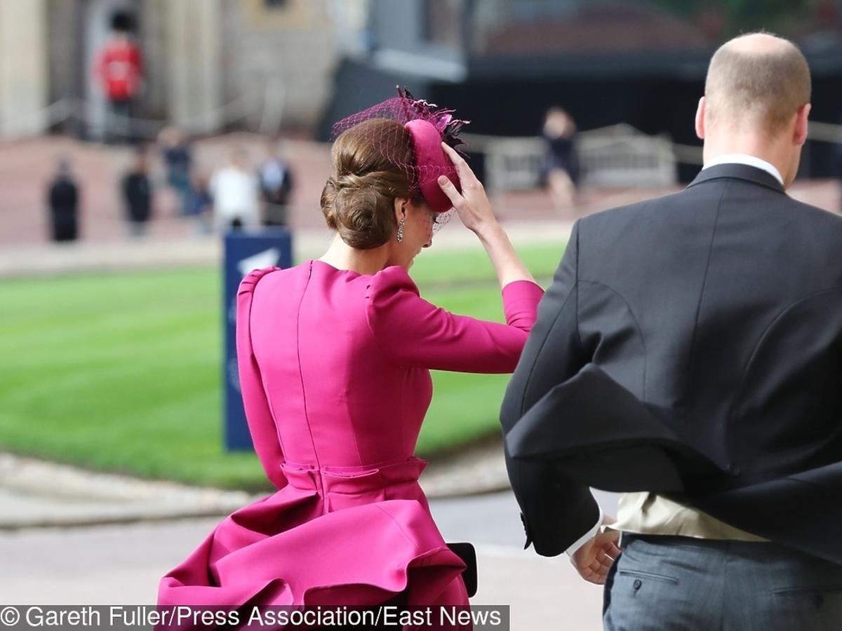 Księżna Kate na ślubie księżniczki Eugenii