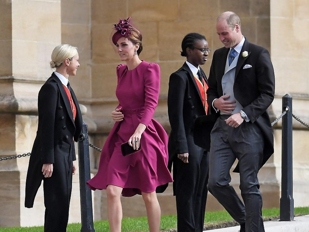 Księżna Kate na ślubie ksieżniczki Eugenii