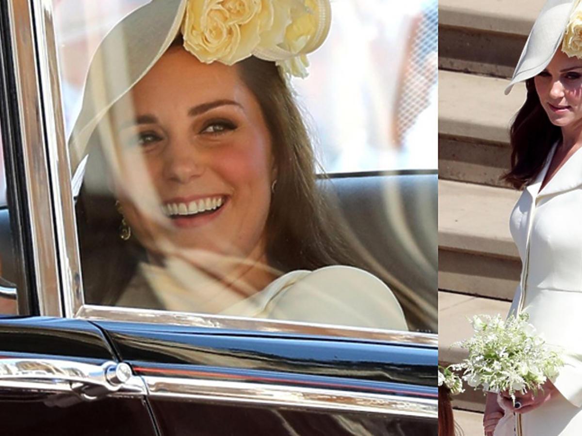 Księżna Kate na ślubie - stylizacja