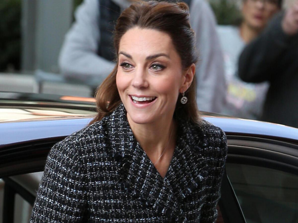 Księżna Kate o krok od wpadki