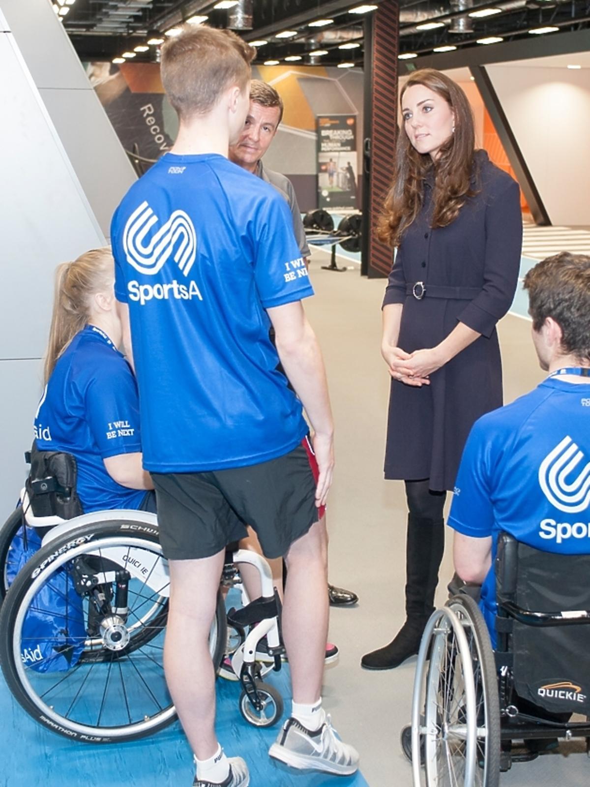 Księżna Kate odwiedziła SportsAid Workshop w Londynie
