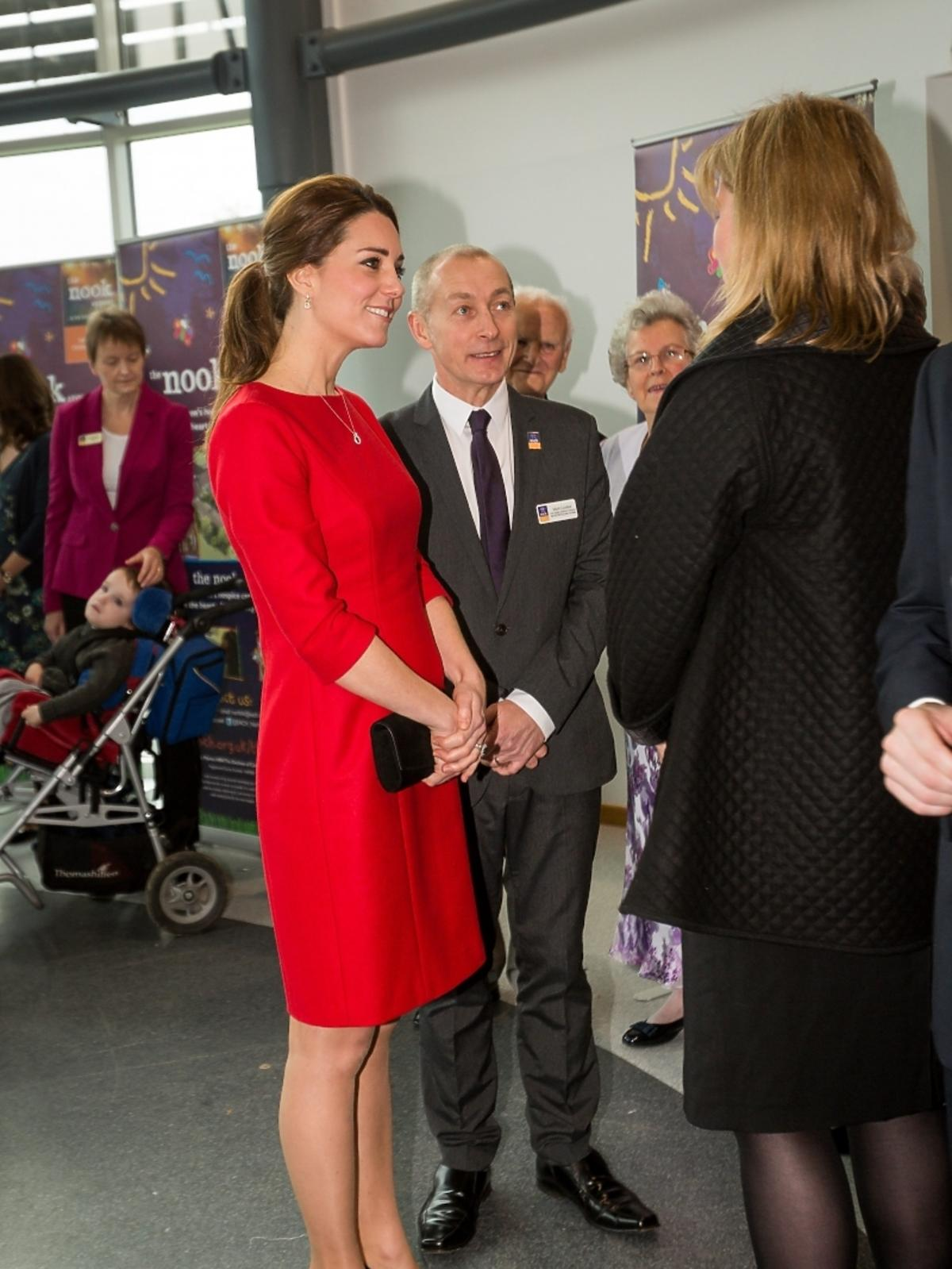 Księżna Kate odwiedziła The Nook Appeal w Norfolk Showground