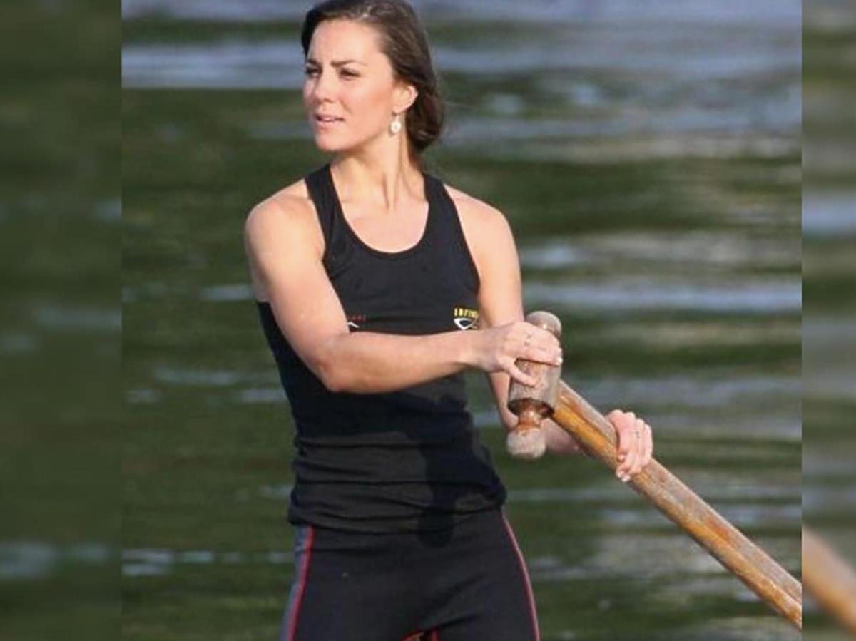 księżna Kate pływa na kajaku