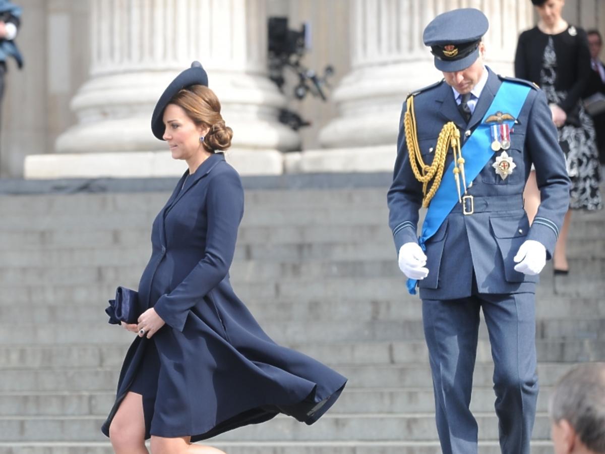 Księżna Kate tuż przed rozwiązaniem ciąży