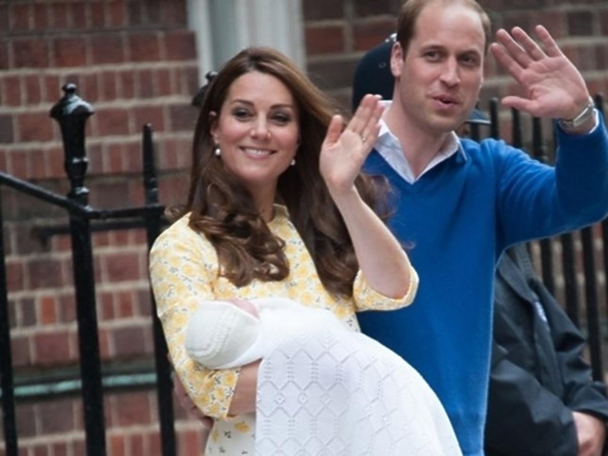księżna Kate urodziła charlotte