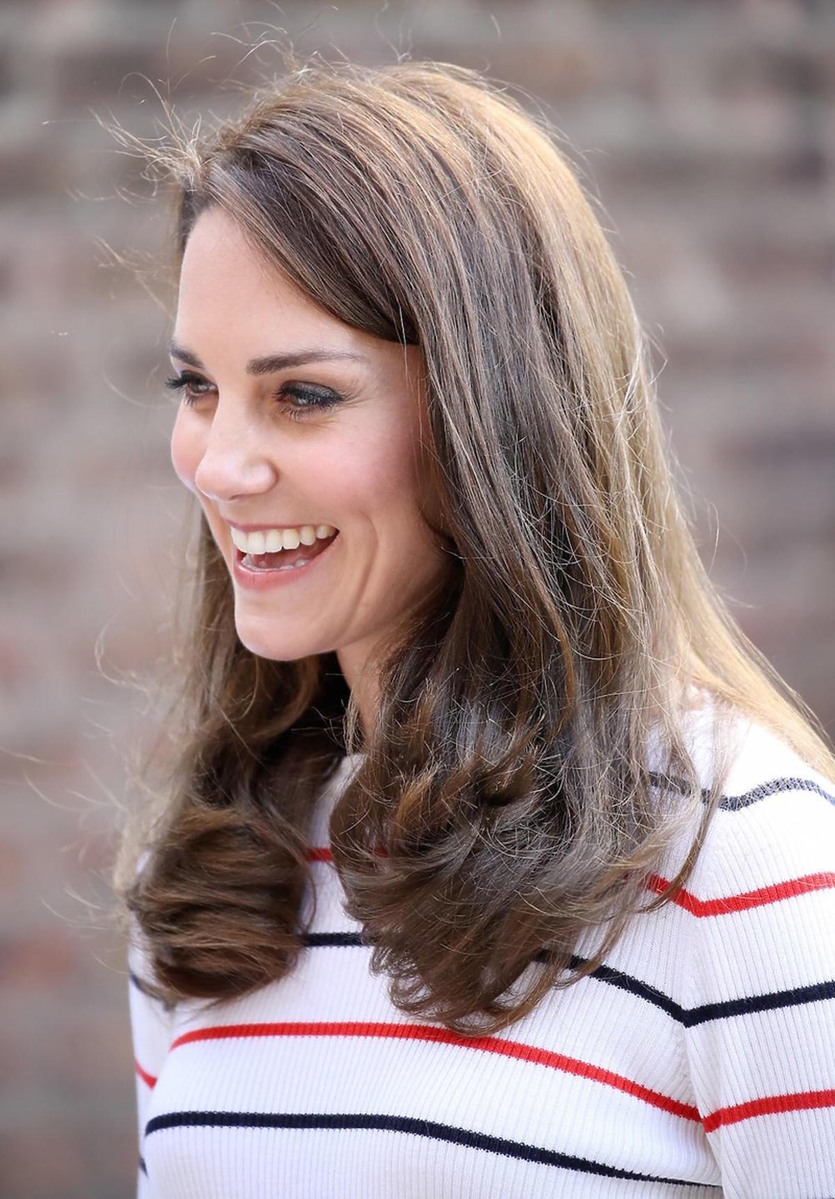 Księżna Kate uśmiech
