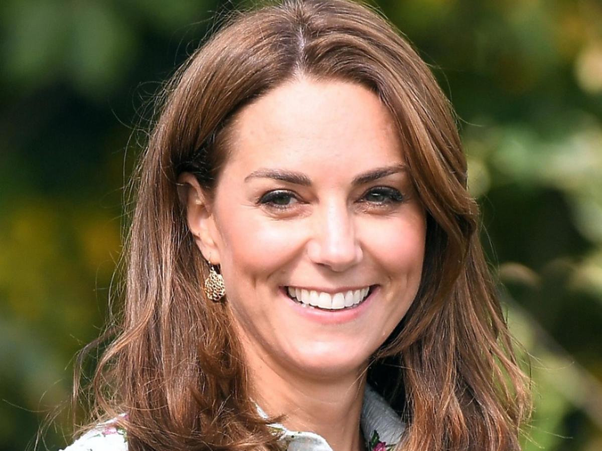 Księżna Kate uśmiechnięta