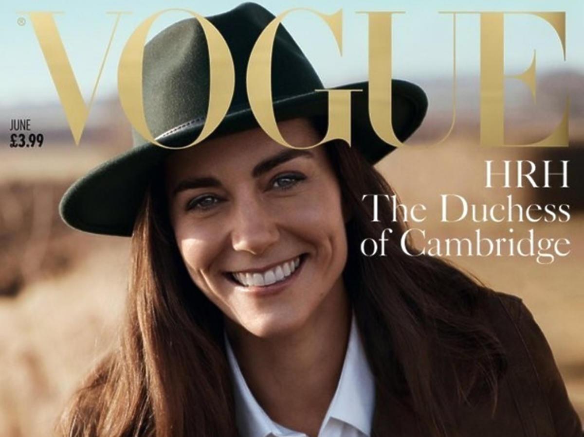 Księżna Kate Vogue