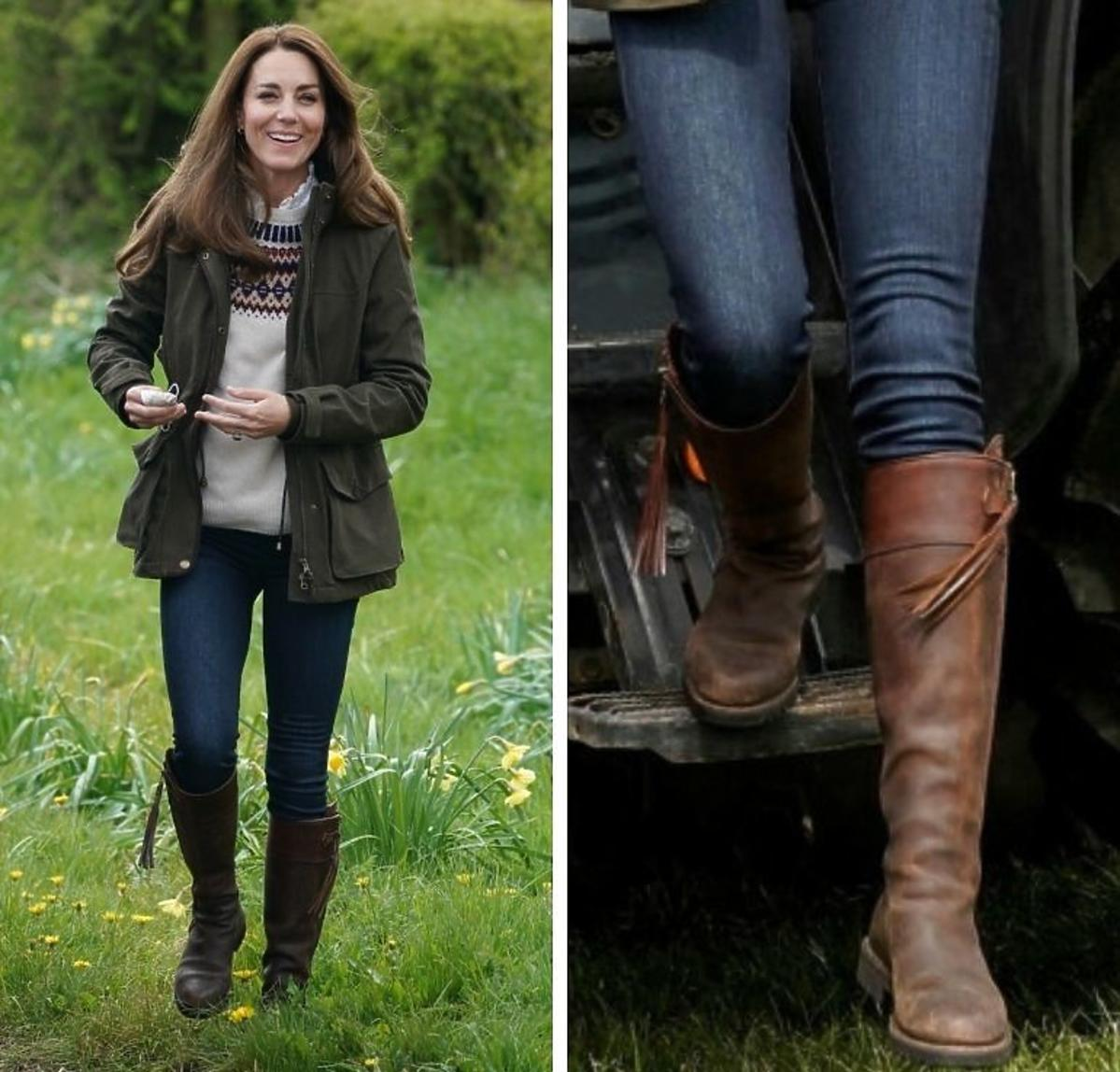 Księżna Kate w butach które ma od 17 lat