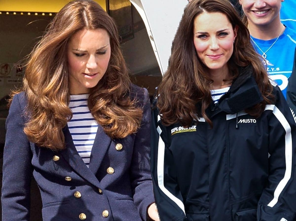 Księżna Kate w casualowej stylizacji