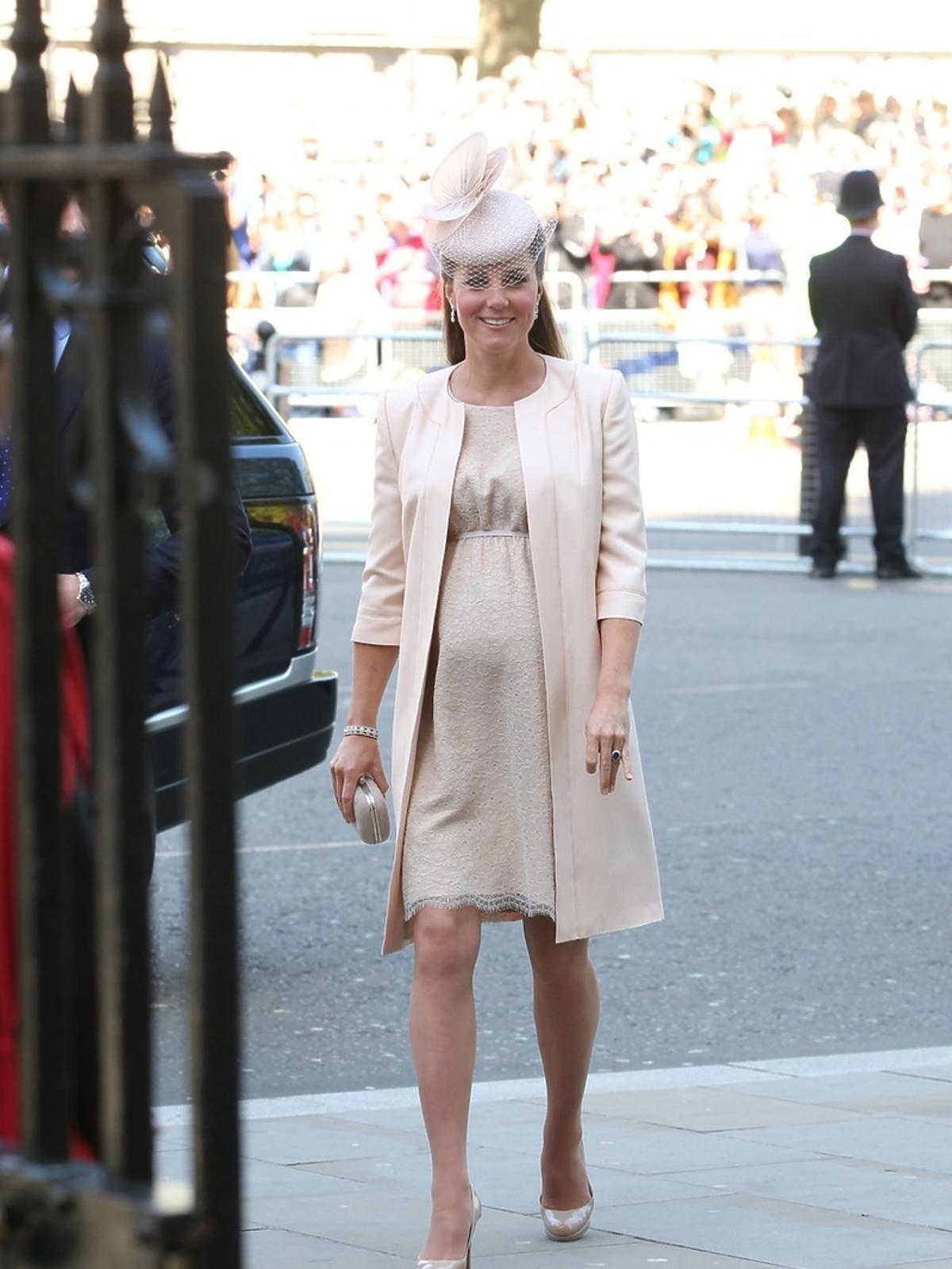 księżna Kate w ciąży