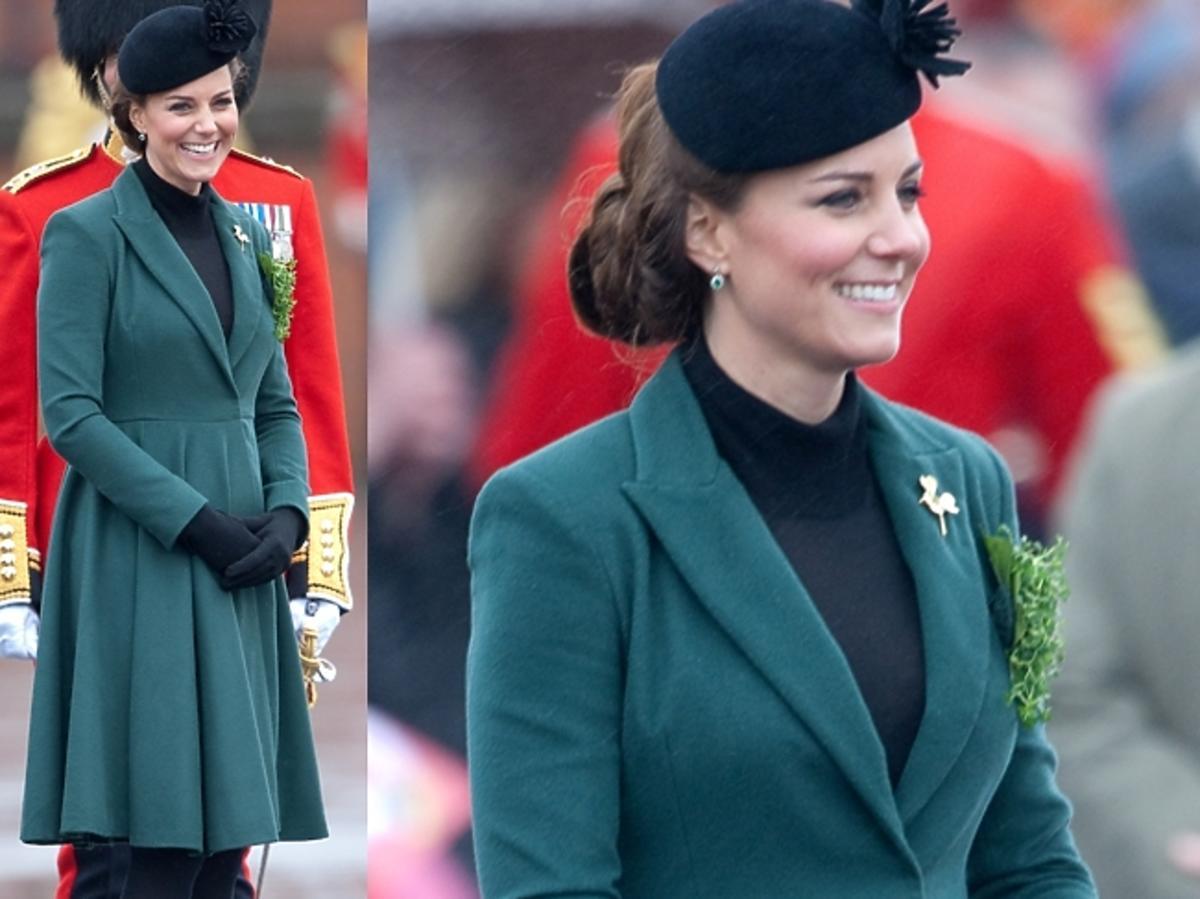 księżna Kate w ciąży - Dzień Św. Patryka