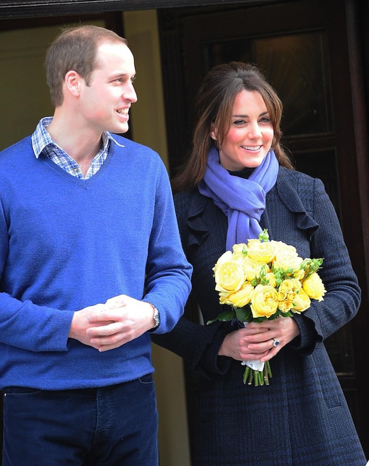 Księżna Kate w ciąży opuszcza szpital Króla Edwarda VII. Jej stan polepszył się. Ze szpitala odebrał ją książę William