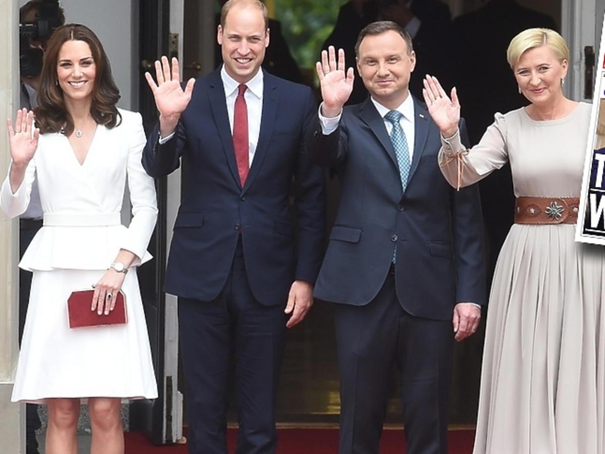 księżna Kate w ciąży w Polsce the sun