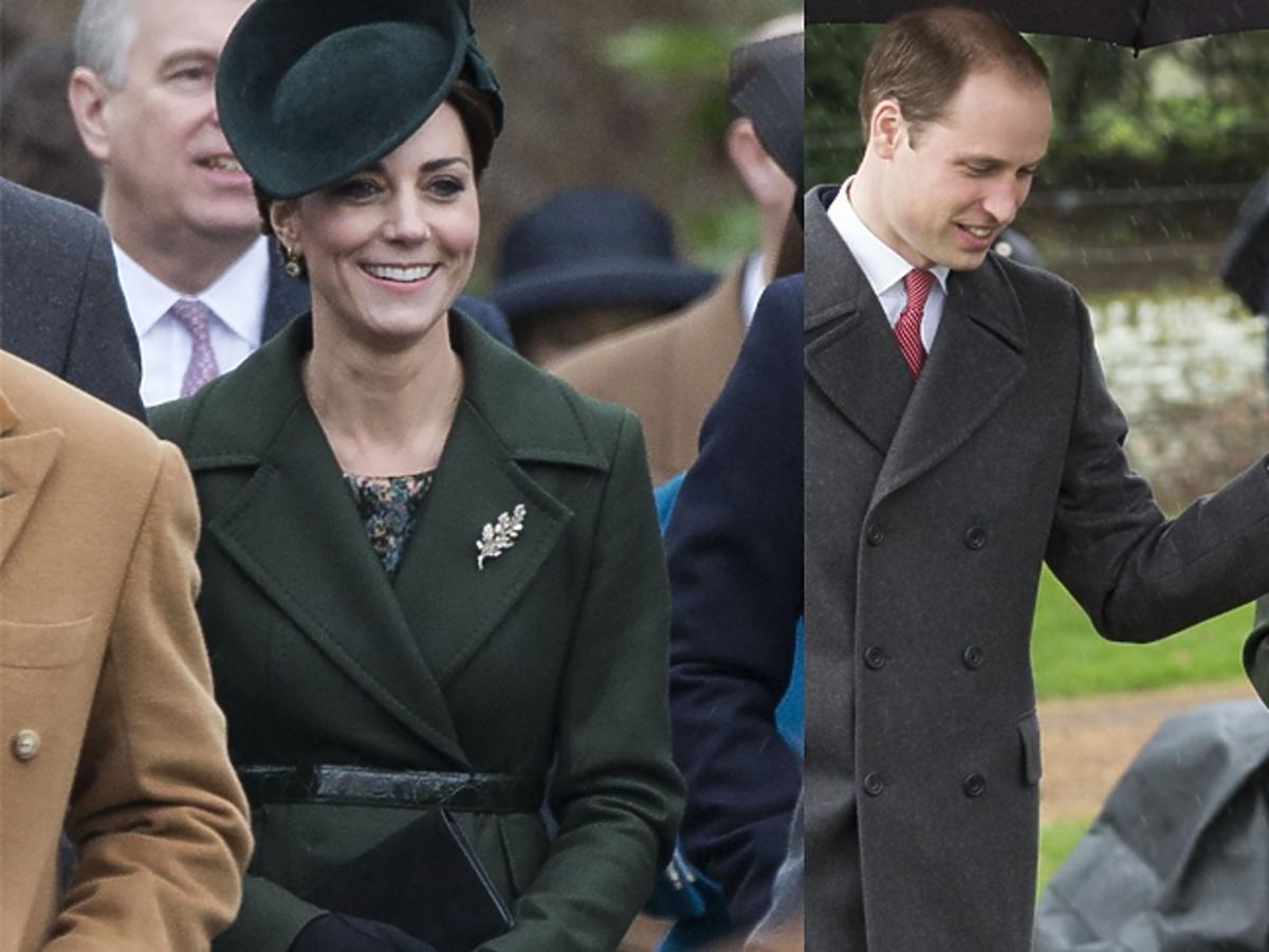 Księżna Kate w drodze do kościoła