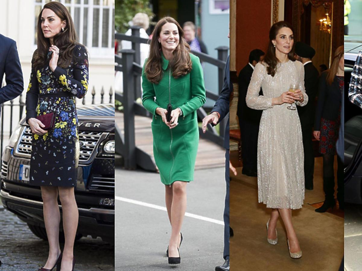 Księżna Kate w Erdem