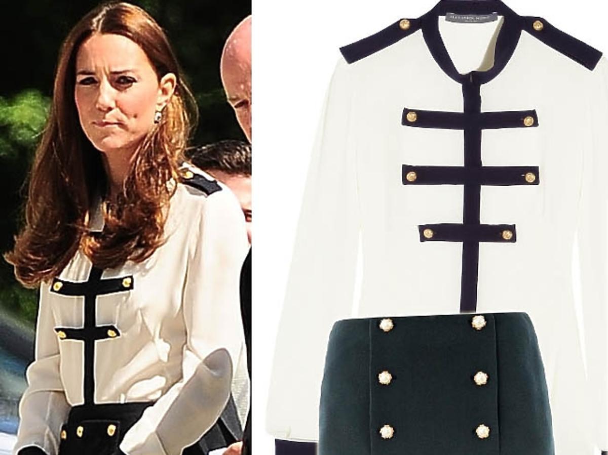 Księżna Kate w komplecie od Alexandra McQueena