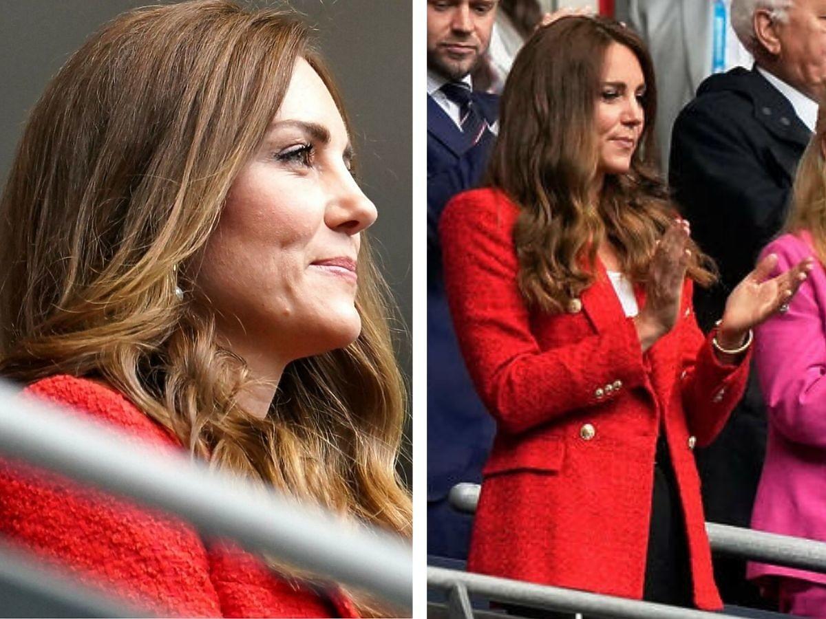 Księżna Kate w marynarce z Zary