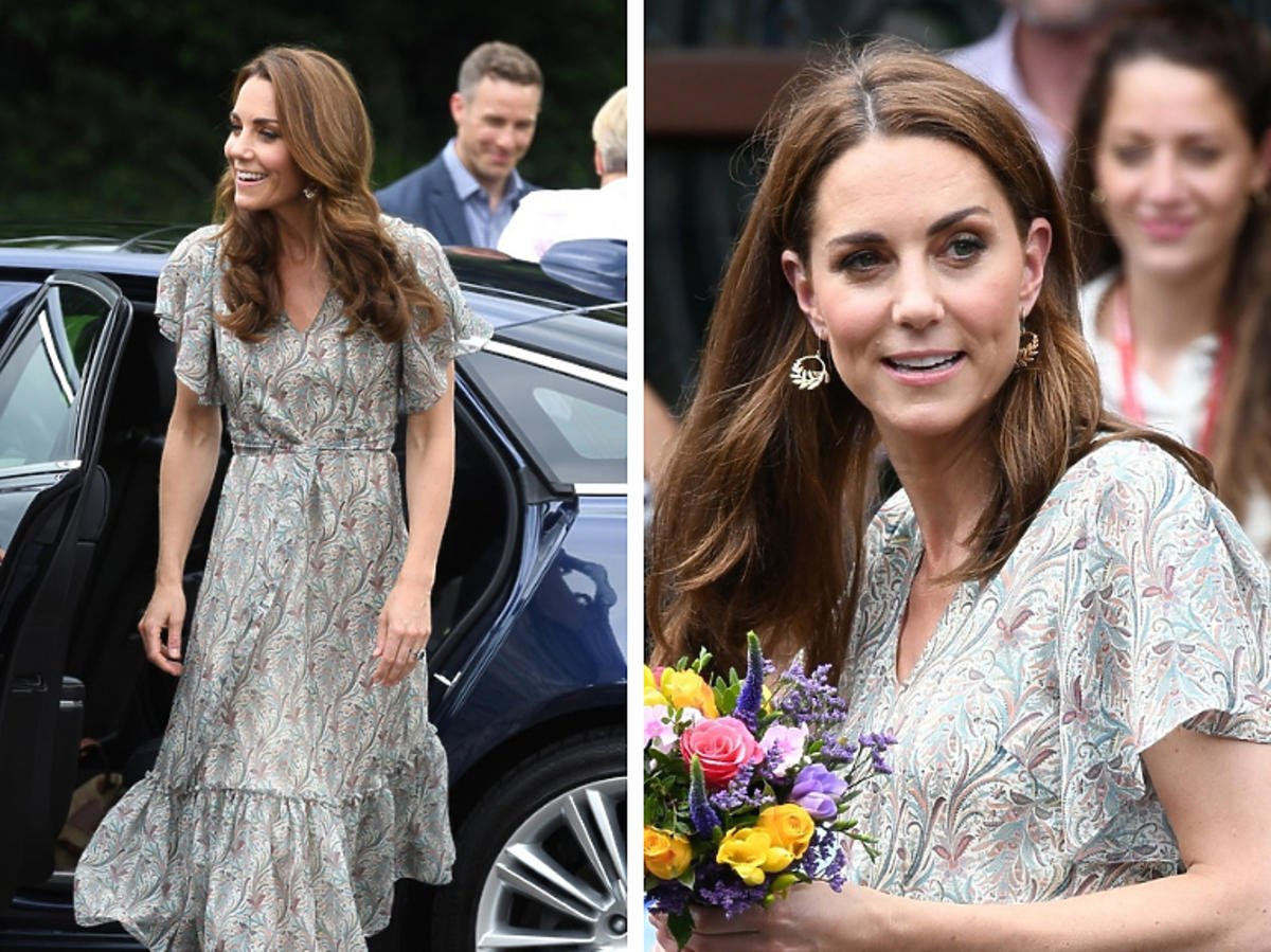 księżna Kate w sukience