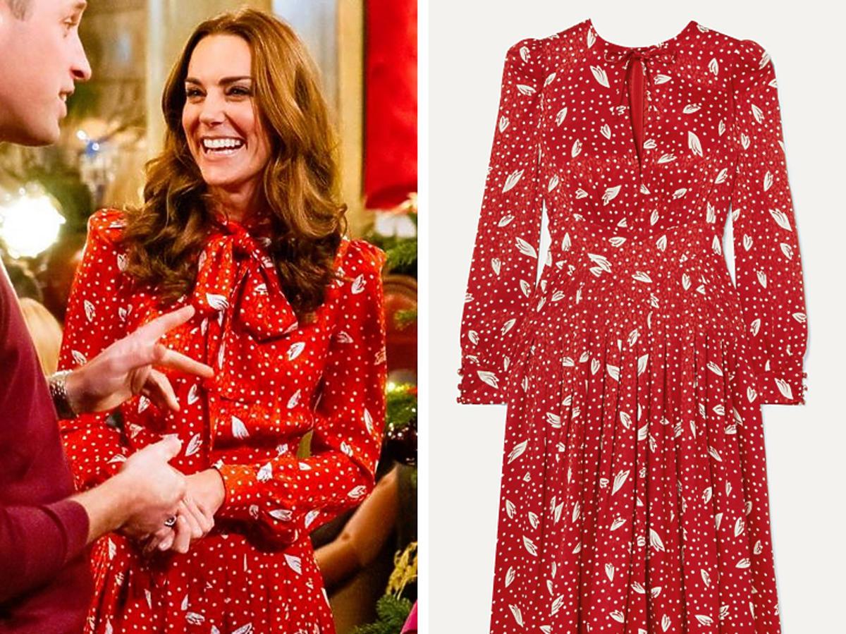 Księżna Kate w sukience Allesandra Rich