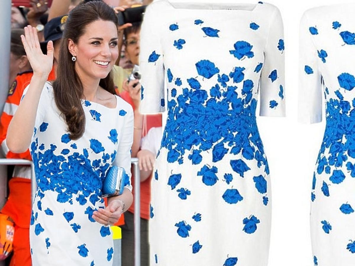 Księżna Kate w sukience LK Bennett