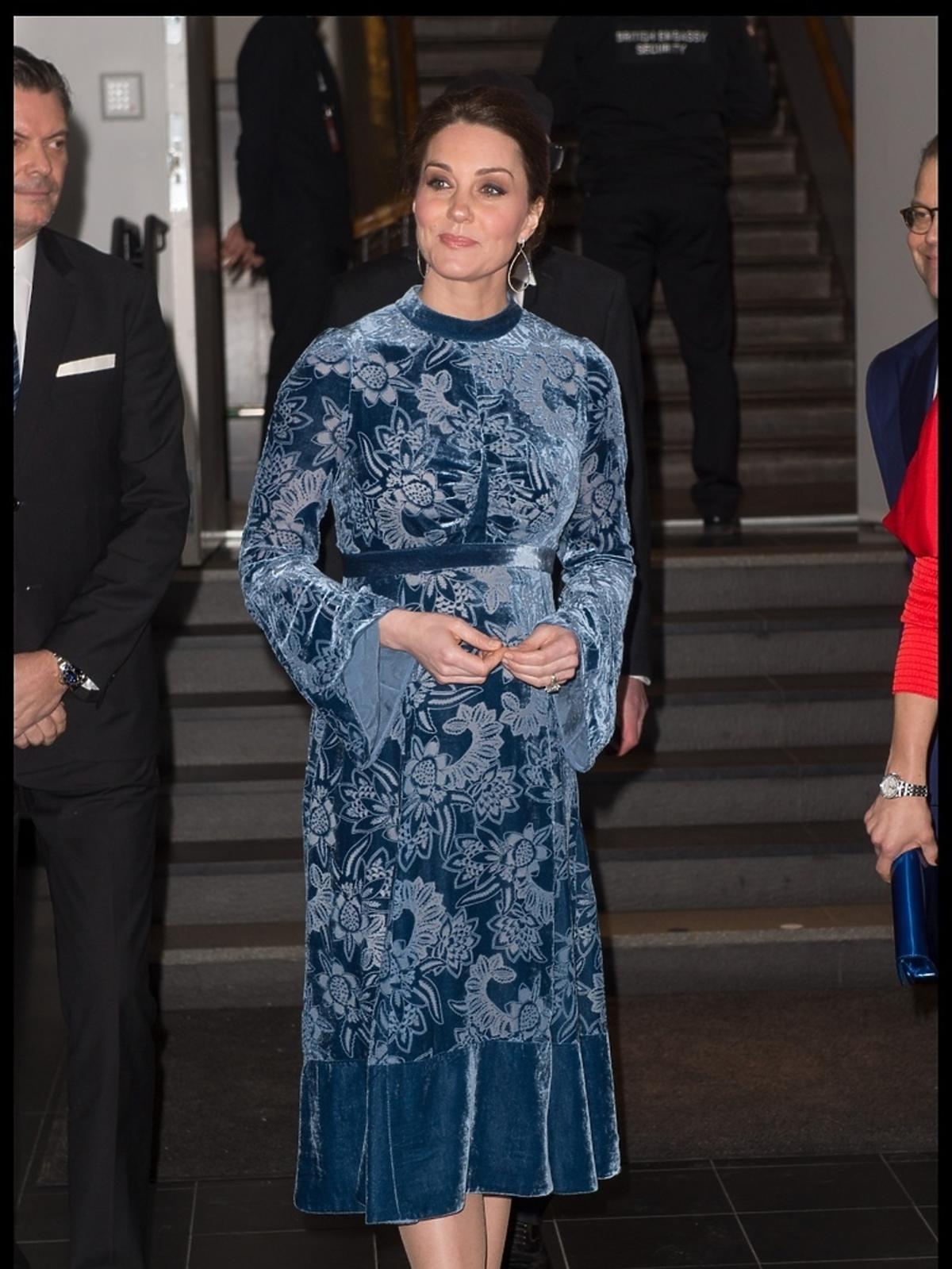 Księżna Kate w sukni Erdem