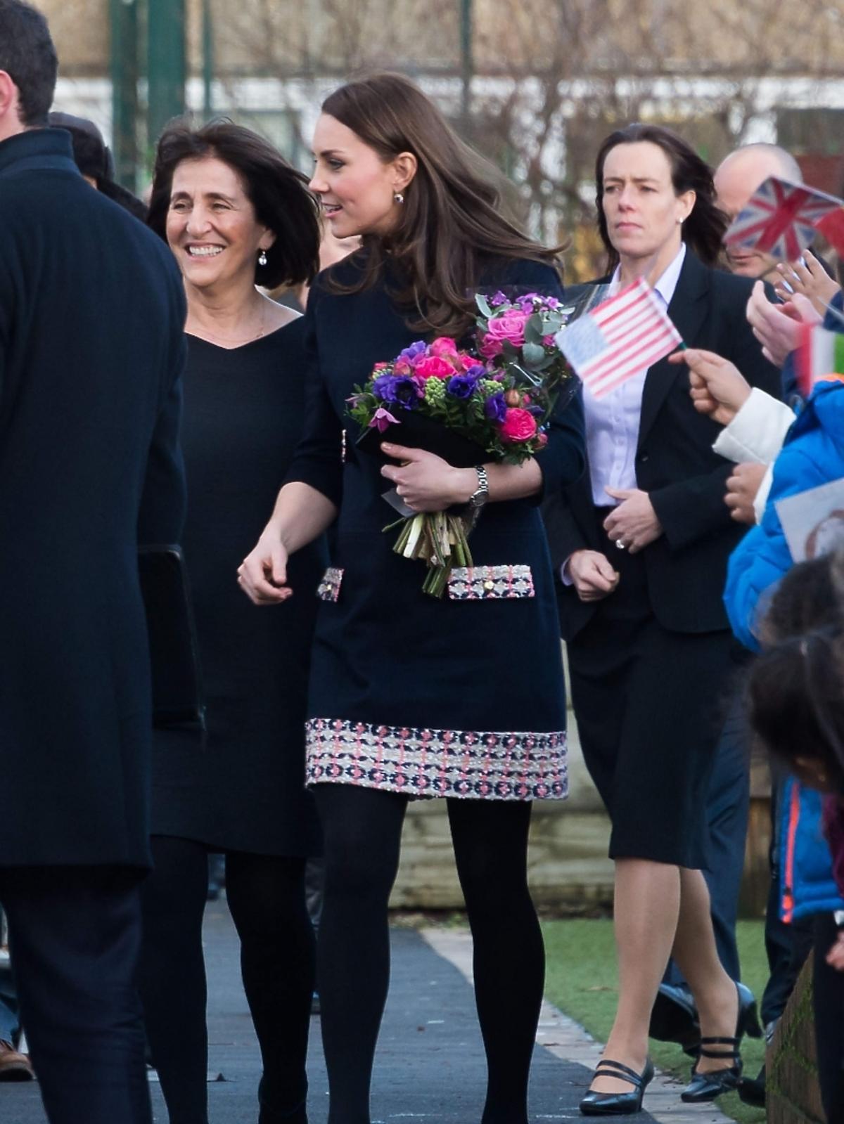 Księżna Kate w szóstym miesiącu ciąży